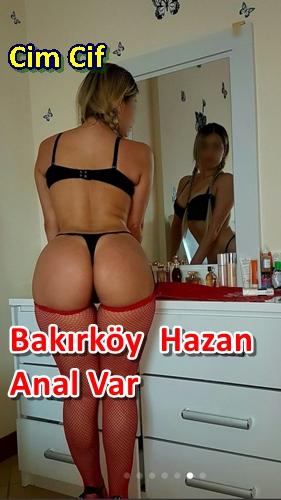 Bakırköy Bayan Escort Hazan